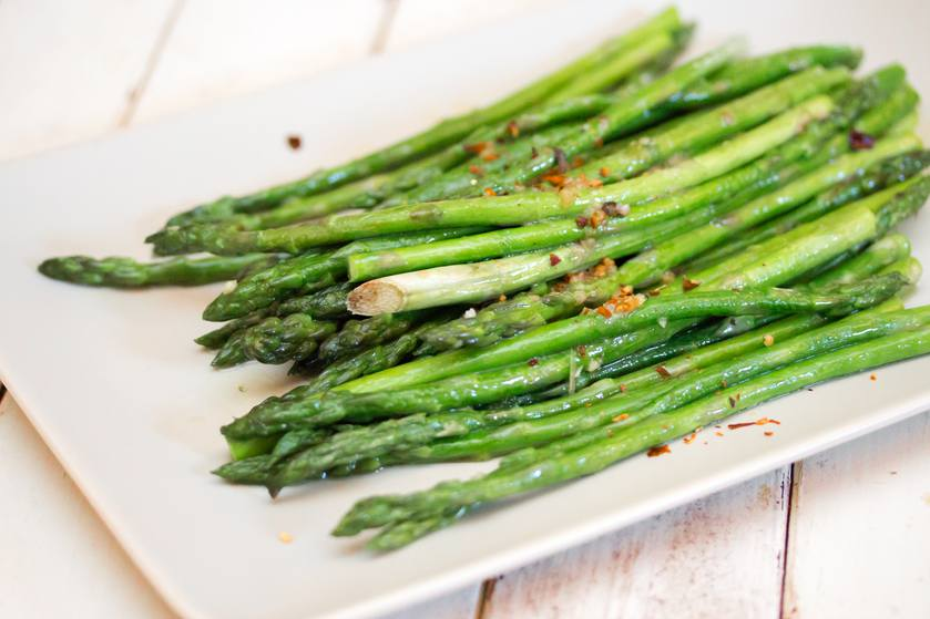 Grab that asparagus while it's in season. (Photo: Jerry James Stone)